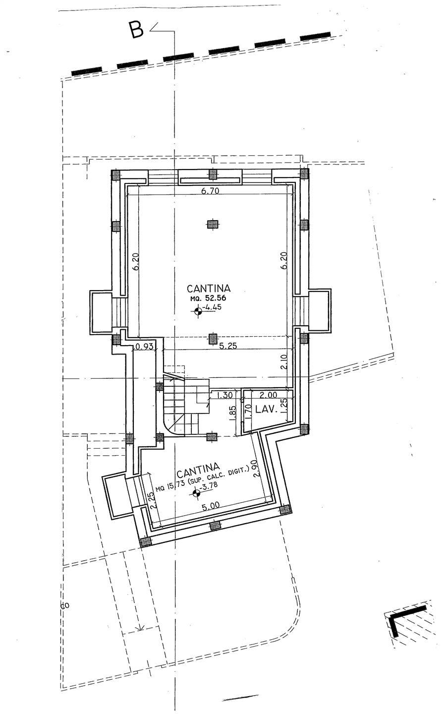 unità B piano seminterrato